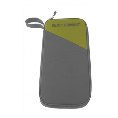 Portadocuments + cartera RFID gran verda