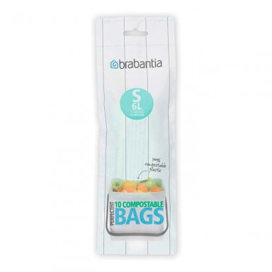 Bossa escombraries biodegradables S 6 litres - set 10 de Brabantia