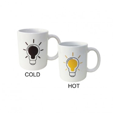 Mug COLD/HOT bombilla