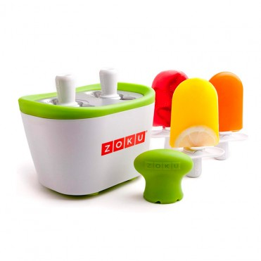 Helador ultra-rápido QUICK-POP doble de Zoku