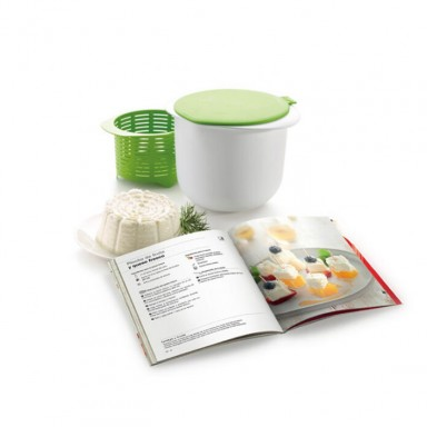Kit CHEESE MAKER para queso fresco + libro catalán