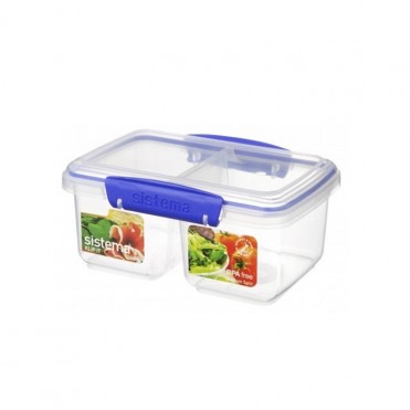 Contenidor doble KLIP IT rectangular 0,85 litres