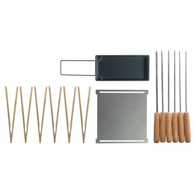 Set accessoris per barbacoa YAKI